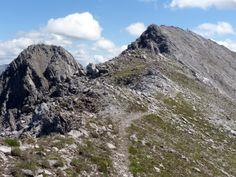 Lechtal - de twee toppen van de Ruitelspitze