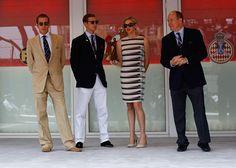 Andrea y Pierre Casiraghi, dos atractivos 'gentleman' en el Gran Premio de Fórmula 1 de Mónaco - Foto 2