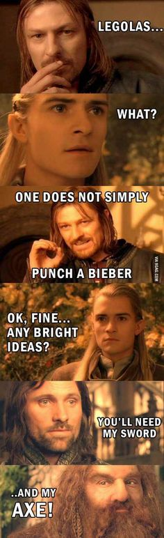 Punch bieber LOR