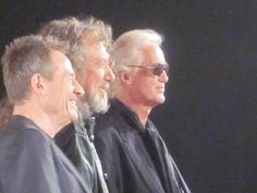 Led Zeppelin held a press conference, Friday Sept 21, to discuss their upcoming release, Celebration Day.    They talked about their 2007 reunion gig.