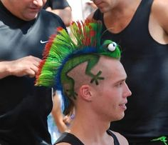I wish I could figure out a way to do this for crazy hair day at school.