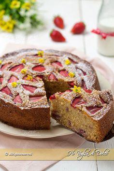 Torta morbida alle fragole e mascarpone ricetta blog Ho Voglia di Dolce