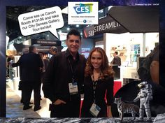 Come see us Canon Booth #13106 and take our City Senses Gallery Tour/exhibit #CES2015 #PixeSocial