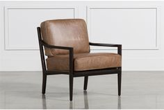 Dominic Saddle Accent Chair - Signature