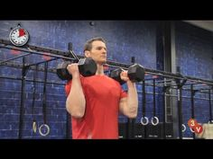 The Perfect Overhead Dumbbell Press - YouTube