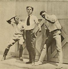 Douglas Fairbanks, Charlie Chaplin, Jack Dempsey