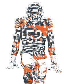 Khalil Mack, Chicago Bears Designing Sport sports