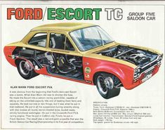 The Ford Escort Mk 1 is one of the most beloved British cars of its generation with styling that quickly embedded itself into the British and European Escort Mk1, Ford Escort, Ford Rs, Car Ford, Ford Classic Cars, Vintage Race Car, Rally Car, Retro Cars, Old Cars