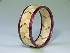 Wood Bangle Bracelet Woodturning made of Maple by BarrettWoodShop, $60.00
