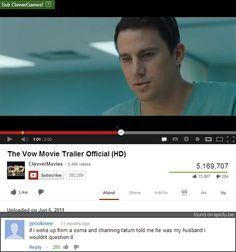 I bet a lot of women will agree! #Channing #Tatum