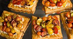 Receta Tartas de hojaldre con tomate y queso | Los Sabores de México y el mundo