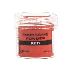 Red Embossing Powder Ranger, EPJ36630, ranger embossing powder, #inkyhotmess #ranger