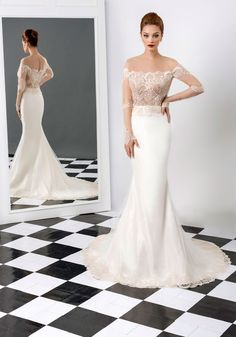 Find a Sexy See Through Lace Mermaid Wedding Dresses Champagne Sheer Long Sleeve Wedding Dress 2016 Beautiful Bridal Dresses Gowns Online Shop For U ! Wedding Dresses From China, Beautiful Bridal Dresses, 2016 Wedding Dresses, Perfect Wedding Dress, Beautiful Gowns, Dress Wedding, Wedding Ceremony, The Bride, Backless Prom Dresses