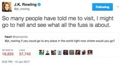"""26 Times J.K. Rowling's Twitter Comebacks Made You Say """"Ouch, That Has To Hurt"""""""