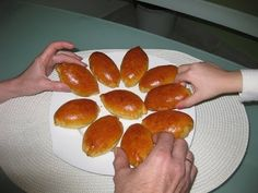Простой рецепт. Пирожки с яблоками в духовке - YouTube