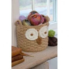 Red Heart Super Saver It's a Hoot Owl Container