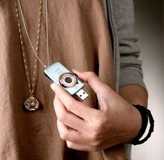 Cute Mini Canon Camera USB Flash Drive