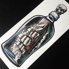 #barrymoretattoo #tbhtattoo #tobehabittattoo #ship #bottle #skull #tattooflash #flash #tattoo #tattos #tatooed #tattooes #tattoolife #tattootime #tattooworkers #tattooinmoscow #traditional #classictattoo #tattoos #oldlines #tattooing #ink #neotraditionaltattoo #traditionaltattoo #tattoois #inked #tattoing #tattooinrussia #tattooart #tattooist #tatrussia (в ToBeHabitTattoo)