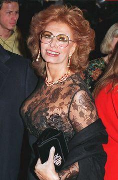 Sophia at 60 y.o. Always looks great