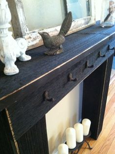 Image Result For How To Build A Faux Fireplace Mantela