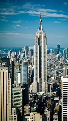 El Empire State Building, Nueva York iPhone 5 fondos de pantalla, fondos, 640 x 1136