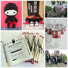 *Rook No. 17: recipes, crafts & creative nesting*: Ninja Academy Party~Enter a Child...Depart a NINJA!