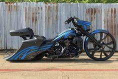 Custom Baggers, Custom Harleys, Custom Motorcycles, Custom Bikes, Harley Bagger, Bagger Motorcycle, Motorcycle Paint, Harley Road Glide, Harley Davidson Road Glide
