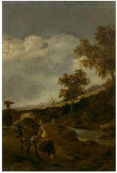 BOTH JAN (ОКОЛО 1615 - ОКОЛО 1652) A Peasant driving a laden mule