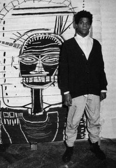 Jean-Michel Basquiat was an American artist. He began as a graffiti artist in the Lower East Side of Manhattan, New York City in the Jean Basquiat, Jean Michel Basquiat Art, Basquiat Artist, Keith Haring, Jasper Johns, Robert Rauschenberg, Andy Warhol, Jackson Pollock, Radiant Child