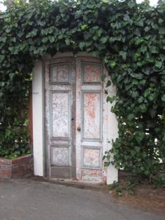 Shabby Chic Door in Carmel!