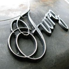 vintage 1970's Plymouth FURY necklace RECYCLED by dustDesignCo