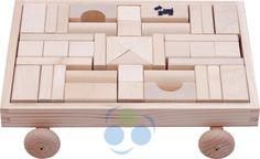 Solidne klocki drewniane polskiej produkcji. #supermisiopl #klocki_drewniane #polskie_zabawki