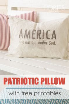 Patriotic Pillow and
