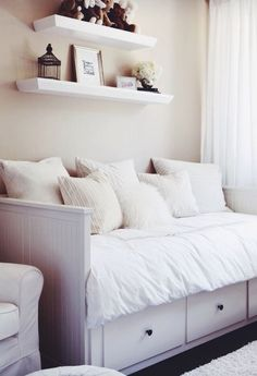 Wicked 50+ Best Ikea Hemnes Daybed https://decoratio.co/2017/04/50-best-ikea-hemnes-daybed/ Its wooden frame offers support to anybody. Open because many windows as possible. Second, we must look at function. Multi purpose of the bed is remarkable.