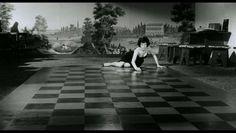 la notte antonioni monica vitti checkerboard mine design opine