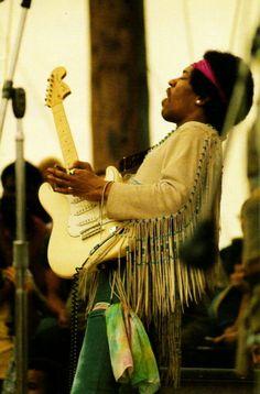 Jimi Hendrix @ Woodstock