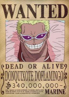 Doflamingo bounty - one piece #anime