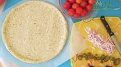 Gluten Free Vegan Italian Pizza Crust