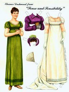 Sense and Sensibility | Gabi's Paper Dolls