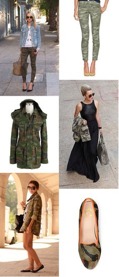 The Pursuit of Style: Military Inspired Fashion, Camo Fashion, Fashion 101, Diva Fashion, Military Fashion, Street Fashion, Camo Skinnies, Army Look, Olive Juice