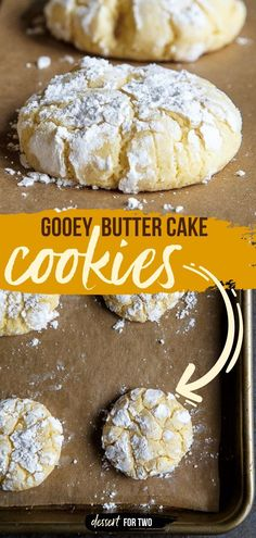 Don't wait too long before trying this cookie recipe! So soft, chewy, and ridiculously delicious, these gooey butter cake cookies from scratch are one of the best easy-to-make sweet treats. Save this…