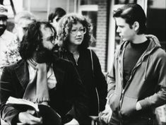 Tommy with Francis and S.E. Hinton