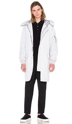 Shop for McQ Alexander McQueen Parka in Steel Grey at REVOLVE. Mcq Alexander Mcqueen, Luxury Shop, Parka, Rain Jacket, Cashmere, Windbreaker, Raincoat, Mens Fashion, Denim