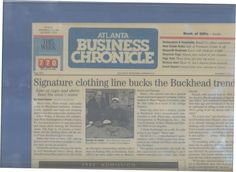 Buckhead Outfitters in the Atlanta Business Chronicle with Atl Mayor Sam Massel