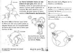 from 63428030 recorto y aprendo Sun And Earth, Sistema Solar, Sun And Stars, Social Science, Learn To Draw, Science And Nature, Kids Education, Solar System, Geography
