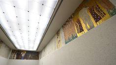 Der 34 Meter lange Bilderzyklus gilt als zentrales Werk des Wiener Jugendstils und als eine von Klimts (1862-1918) bedeutendsten Schöpfungen: Der Beethovenfries in der Wiener Secession.