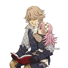 Soleil comforting her daddy