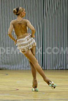 Artistic roller skating. Please like http://www.facebook.com/RagDollMagazine and follow @RagDollMagBlog @priscillacita