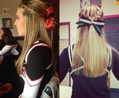 45 Best Cheerleader Hairstyles Images Easy Hair Hair Looks