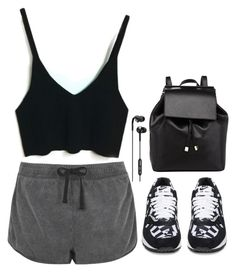 """""""Sporty"""" by hungry-unicorn ❤ liked on Polyvore featuring moda, NIKE, Barneys New York, Skullcandy y Topshop"""
